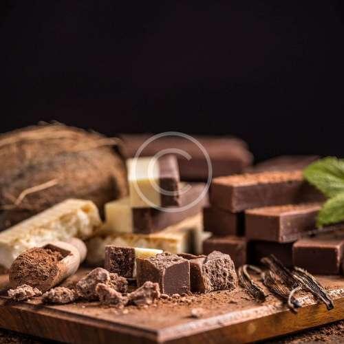 Шоколад с ваша снимка